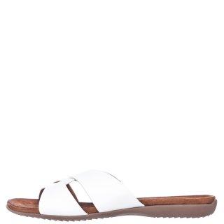 Γυναικείες Παντόφλες 911 21019 26 Eco Leather Λευκό Adam's