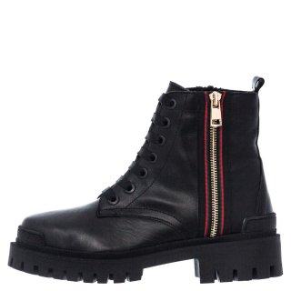 Γυναικεία Μποτάκια 594 20520 Δέρμα Μαύρο Aeros
