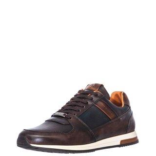 Ανδρικά Sneakers 10966 5913AM1 SLOW Δέρμα Καφέ Ambitious