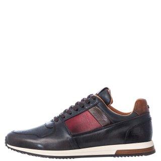 Ανδρικά Sneakers 10966 6335AM SLOW Δέρμα Ανθρακί Ambitious