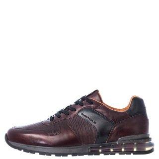 Ανδρικά Sneakers 11109 6329AM KISHU Δέρμα Κονιάκ Ambitious