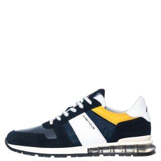 Ανδρικά Sneakers 1S1 080 0156 KISHU Δέρμα Δέρμα Καστόρι Μπλέ Ambitious
