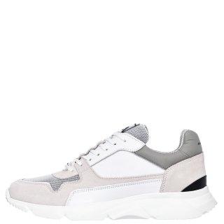 Ανδρικά Sneakers 1S1 080 081 CITY RUN Δέρμα Δέρμα Καστόρι Λευκό Ambitious