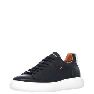 Ανδρικά Sneakers 1S1 080 093 ECLIPSE Δέρμα Μαύρο Ambitious