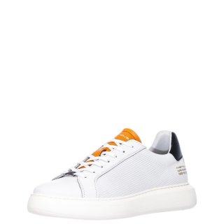 Ανδρικά Sneakers 1S1 080 097 ECLIPSE Δέρμα Λευκό Ambitious