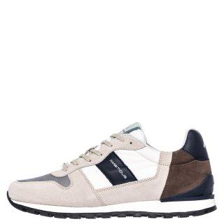 Ανδρικά Sneakers 1S1 080 144 KEN Δέρμα Καστόρι Μπεζ Ambitious