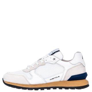 Ανδρικά Sneakers 1S1 080 199 SILKY Δέρμα Δέρμα Καστόρι Λευκό Ambitious