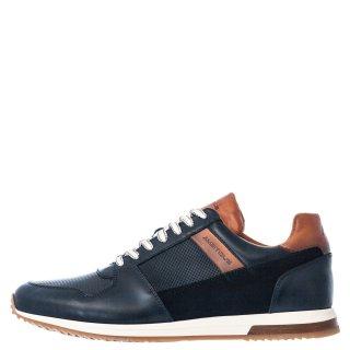 Ανδρικά Sneakers 1S1 080 204 SLOW Δέρμα Δέρμα Καστόρι Μπλέ Ambitious