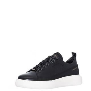 Ανδρικά Sneakers 1W1 080 003 ECLIPSE Δέρμα Μαύρο Ambitious
