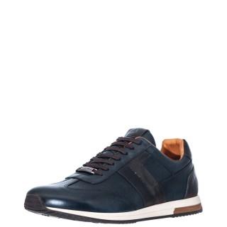 Ανδρικά Sneakers 1W1 080 016 SLOW Δέρμα Μπλέ Ambitious