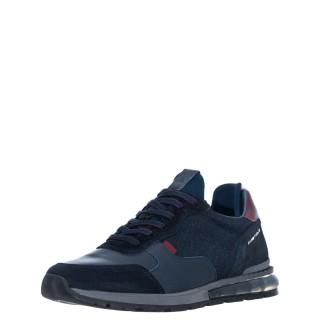 Ανδρικά Sneakers 1W1 080 092 KISHU Δέρμα Δέρμα Καστόρι Μπλέ Ambitious