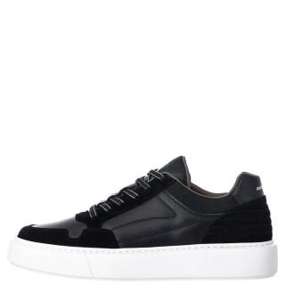 Ανδρικά Sneakers 1W1 080 157 BUZZLIGHT Δέρμα Δέρμα Καστόρι Μαύρο Ambitious