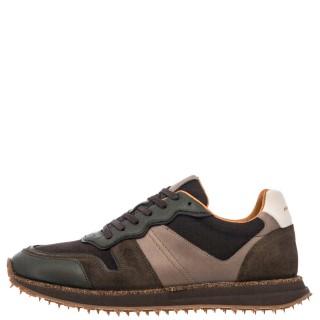 Ανδρικά Sneakers 1W1 080 195 CANADA Δέρμα Δέρμα Καστόρι Χακί Ambitious