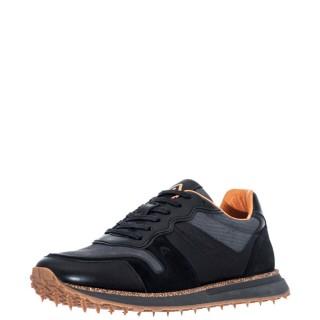 Ανδρικά Sneakers 1W1 080 197 CANADA Δέρμα Δέρμα Καστόρι Μαύρο Γκρι Ambitious