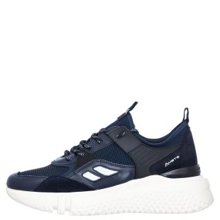 Ανδρικά Sneakers 9778 4846AM VITTORY Δέρμα Μπλέ Ambitious