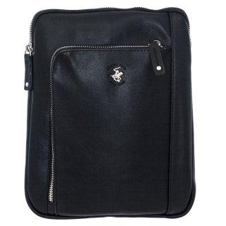 Ανδρικές Τσάντες BH1181 Eco Leather Μαύρο Beverly Hills Polo Club