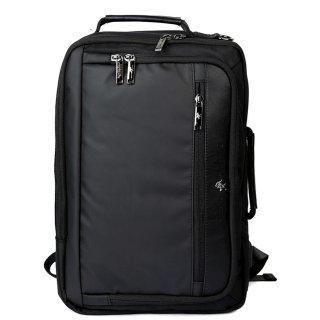 Ανδρικές Τσάντες BH1373 Ύφασμα Eco Leather Μαύρο Beverly Hills Polo Club