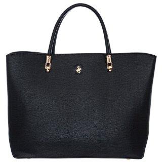 Γυναικείες Τσάντες BH2281 Eco Leather Μαύρο Beverly Hills Polo Club