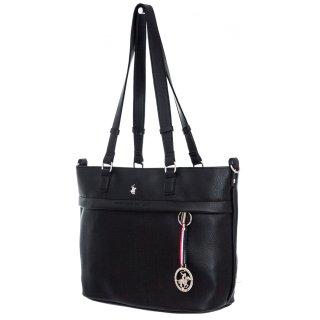Γυναικείες Τσάντες BH2301 Eco Leather Μαύρο Beverly Hills Polo Club