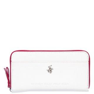 Γυναικεία Πορτοφόλια BH2417 Eco Leather Λευκό Beverly Hills Polo Club