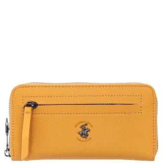 Γυναικεία Πορτοφόλια BH2425 Eco Leather 'Ωχρα Beverly Hills Polo Club
