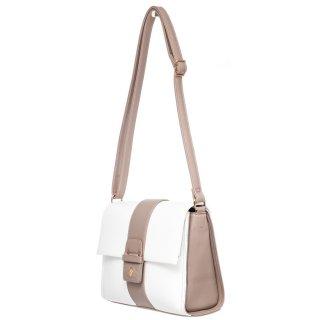Γυναικείες Τσάντες BH2454 Eco Leather Λευκό Beverly Hills Polo Club