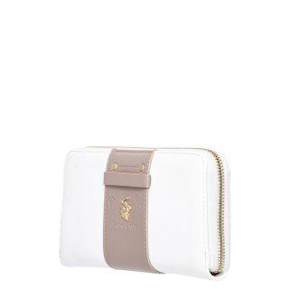 Γυναικεία Πορτοφόλια BH2455 Eco Leather Λευκό Beverly Hills Polo Club