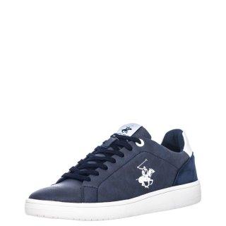 Ανδρικά Sneakers W20 SHM591 Eco Leather Μπλέ Beverly Hills Polo Club