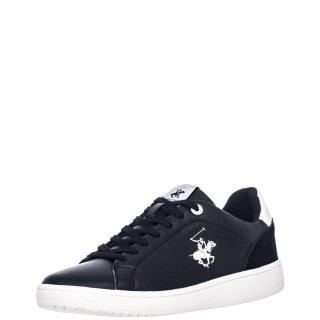 Ανδρικά Sneakers W20 SHM591 Eco Leather Μαύρο Beverly Hills Polo Club