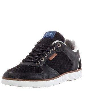 Ανδρικά Sneakers 628K25144 Δέρμα Μαύρο BullBoxer