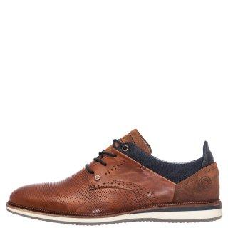 Ανδρικά Casual Παπούτσια 633K25264G Δέρμα Ταμπά BullBoxer