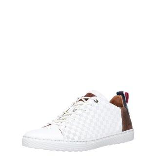 Ανδρικά Sneakers 779K26589F Δέρμα Λευκό BullBoxer