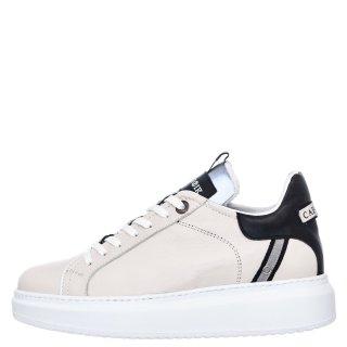 Γυναικεία Sneakers FDE121 Δέρμα Panna CafeNoir