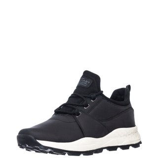 Ανδρικά Sneakers AH 00434 Eco Leather Μαύρο Calgary