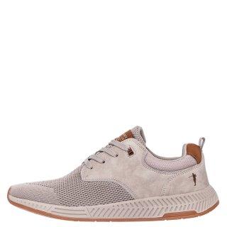 Ανδρικά Sneakers Y776 Eco Leather Ελαστικό Ύφασμα Μπεζ Calgary