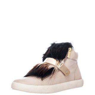 Γυναικεία Sneakers 111824 Δέρμα Μπεζ Carrano