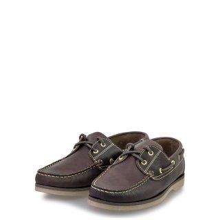 Ανδρικά Boat Shoes 2006 Δέρμα Καφέ Commanchero