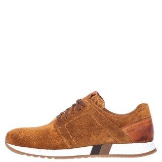 Ανδρικά Sneakers 72126 Δέρμα Καστόρι Ταμπά Commanchero