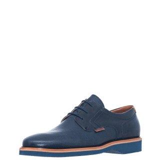 Ανδρικά Casual Παπούτσια 91717 Δέρμα Μπλέ Commanchero