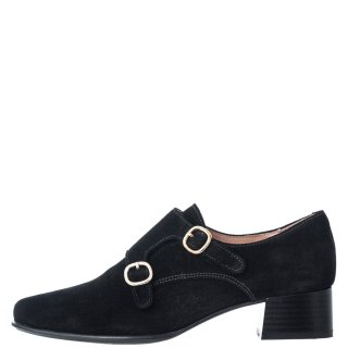Γυναικεία Casual Παπούτσια M 4020 Δέρμα Καστόρι Μαύρο Dchicas