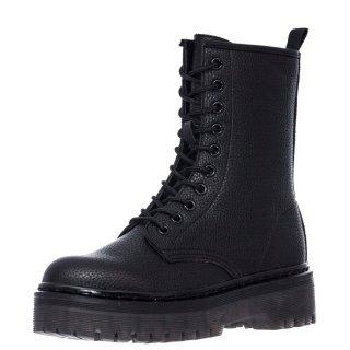Γυναικεία Μποτάκια 027 RG2270 Eco Leather Μαύρο Exe