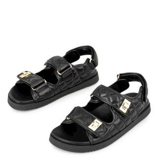 Γυναικεία Πέδιλα 030 DIONE Eco Leather Μαύρο Exe