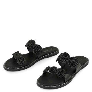 Γυναικείες Παντόφλες 112 ALLISON Eco Leather Μαύρο Exe