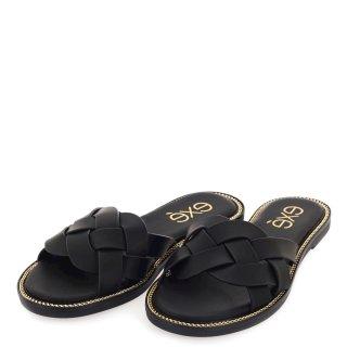 Γυναικείες Παντόφλες 185 ARIANA Eco Leather Μαύρο Exe