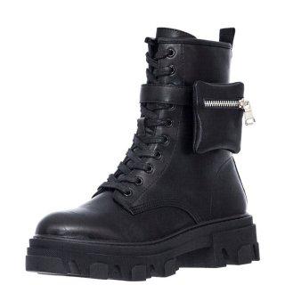 Γυναικεία Μποτάκια 284 RG2282 Eco Leather Μαύρο Exe