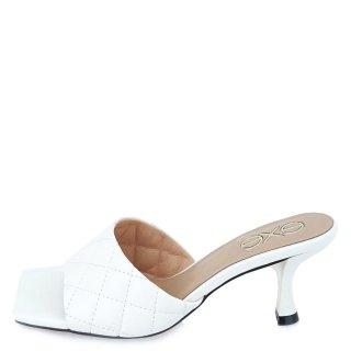 Γυναικεία Σαμπό 566 JENIFER Eco Leather Λευκό Exe