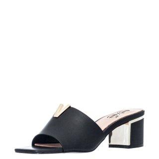 Γυναικεία Σαμπό 572 ISABEL Eco Leather Μαύρο Exe