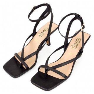 Γυναικεία Πέδιλα 663 CINDY Eco Leather Μαύρο Exe