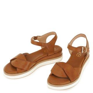Γυναικεία Πέδιλα 313 AMANDA Eco Leather Ταμπά Exe