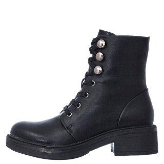 Γυναικεία Μποτάκια B318 03 Eco Leather Μαύρο Exe